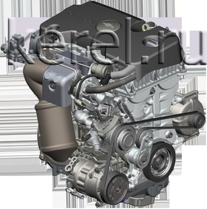Основные типы двигателей: бензиновый двигатель